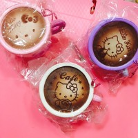 Squishy Hello kitty cafe cup replica