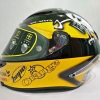 Helm Motor Full Face Fullface AGV Corsa Guy Martin Murah Original