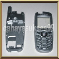 Casing samsung sgh X600 silver lengkap keypad