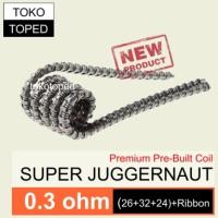 Super Juggernaut Kanthal A1 Coil 0.3 ohm | vapor rda rba mod kantal