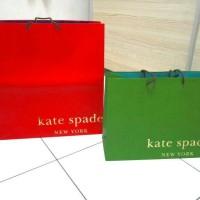 Kate Spade original paperbag branded paper bag