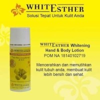CREAM PEMUTIH KULIT WHITE ESTHER WHITENING BODY LOTION BPOM ORIGINAL