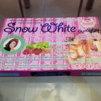 Supplement Pengencang Pemutih Kulit Tubuh Snow white L-gluthatione