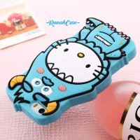 iPhone 5 5S 5C 5G SE Hello Kitty Monster 3D Cute Case Casing bumper