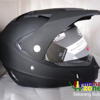 harga Helm Snail Mx311 / Mx 311 Supermoto Black Doff Tokopedia.com