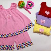setelan anak perempuan / baju bayi / dress