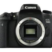 New Kamera DSLR Canon EOS 760D Body Only / BO Wifi Garansi 1 Tahun