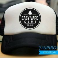 TOPI TRUCKER JARING EASY VAPE CLUB - JASPIROW SHOPPING