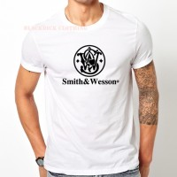 tshirt SMITH AND WESSON (bdc)