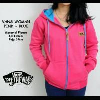 Vans Women Pink Blue / Jaket Murah / Grosir Jaket
