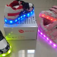 Jual Sepatu anak LED + charger ukuran 31-35 (item 111-4) Murah