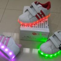 Jual Sepatu anak LED + charger ukuran 31-35 (item 112-2) Murah