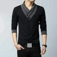 harga Baju Kaos Pria Model Korea Harga Murah/kaos Casual Tokopedia.com