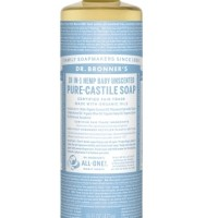 Dr. Bronner's Baby Unscented Pure - Castile Soap 473 Ml