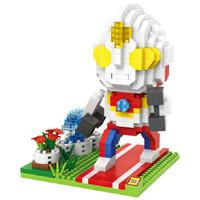 Jual LOZ Lego Nano Block Nanoblock Ultraman In The Garden Murah