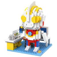 Jual LOZ Lego Nano Block Nanoblock Ultraman In The Lab Murah