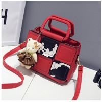 Tas Elegan Import Hand Bag Wanita Red Fashion