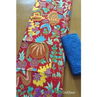 Kain Batik Printing Biota Laut mix Embos