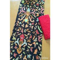 Kain Batik Printing Pisang Bali mix Embos