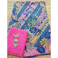 Batik hokokai pink ix embos