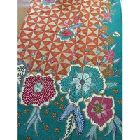 Batik print slobok orange