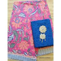 batik 3negri pink mix embos