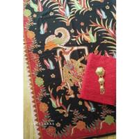 Batik print wayang lama mix embos