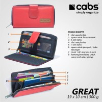harga Cabs Pocket Great - Red (dompet Wanita Lokal Hpo Cantik Serbaguna) Tokopedia.com