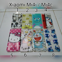 Case Ultrathin Karakter For Xiami Mi4i / Softcase Xiaomi Mi 4i