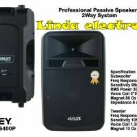 Speaker pasif Ashley 15 inch ss-400 P original ( 1` pasang )