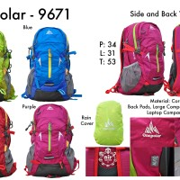 One Polar Tas Ransel Laptop Hiking 9671