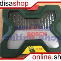 Jual MATA BOR & MATA OBENG BOSCH-33 TLG/PCS X LINES Murah