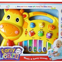 MAINAN PIANO ANAK EARLY LEARN YELLOW