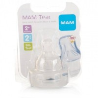 MAM teat 2m+ baby Silicone Nipple (Teat 2)