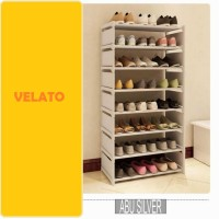 DIY Rak Sepatu Susun Shoes Organizer Pump Rubi Jelly Flat Shoes Anak