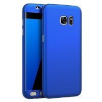 Samsung S7 Edge 360 Full Cover Baby Skin Ultra Thin Hard Case Blue