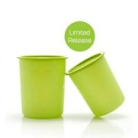 Jual Tupperware Green Canister Set (2 pcs Toples) Murah
