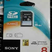 harga SDHC sony 8Gb Tokopedia.com
