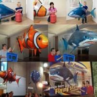 mainan Air Swimmer Remote Control / Flying Fish Air Swimmer model unik