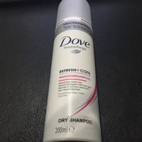 Jual Dove Dry Shampoo Refresh + Care Volume (200ML) Original 100% Murah