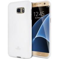 Samsung S4 Mini Case Jelly Goospery Soft New Cover WHITE