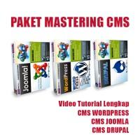 Mastering CMS | Tutorial Wordpress | Panduan Membuat Web Joomla Drupal