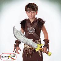 pedang mainan model kesatria scorpion king / barbarian
