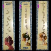 Jual headpiece kawat/headpiece jilbab/hiasan rambut Murah