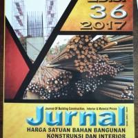 harga Jurnal Harga Satuan Bahan Bangunan Kontruksi & Interior Edisi 36-2017 Tokopedia.com