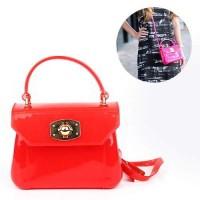 Furla Candy Bon Bon Bag (Red)