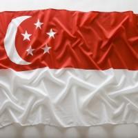 Bendera Besar Nasional Singapura Singapore 1,5 meter