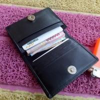 Jual mini slim wallet dompet pria kulit sapi asli berkwalitas Murah