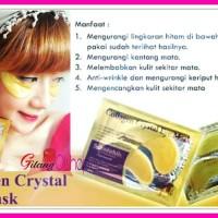 Masker Mata GOLD Emas Collagen Crystal Eyelid Patch / kristal kolagen