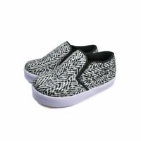 Sepatu Anak Tamagoo-Noel BW Pattern Shoes Sneakers Murah Branded